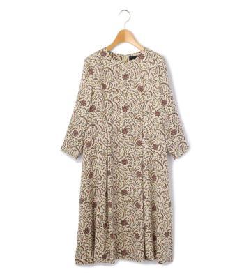 イングランドチンツ ドレス