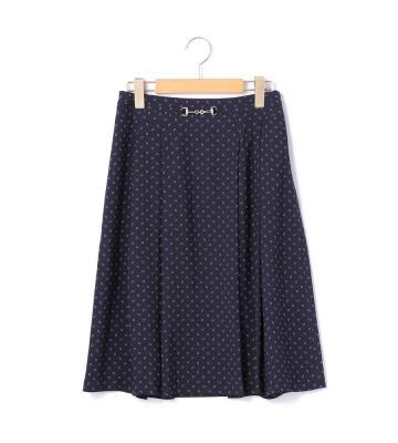 ジオメトリックパターン スカート