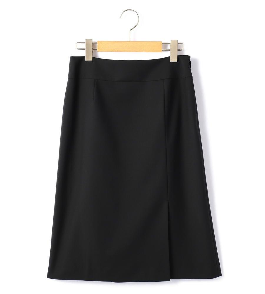ウールストレッチ スカート