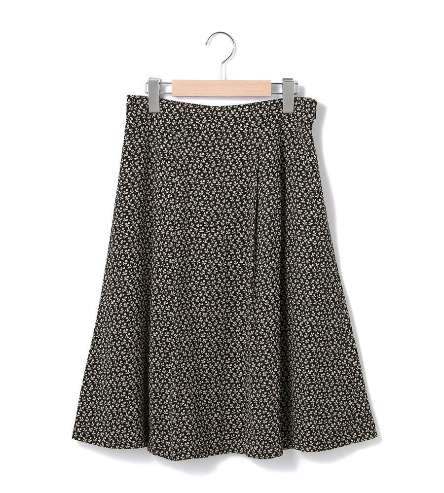 モチーフフラワー スカート