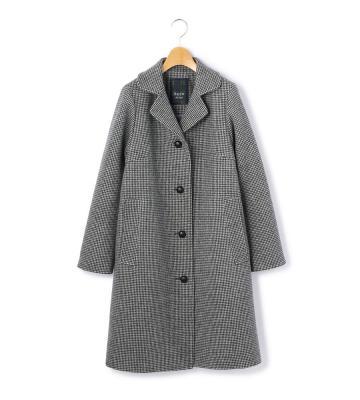 【50size~】ダブルフェイスチドリ コート