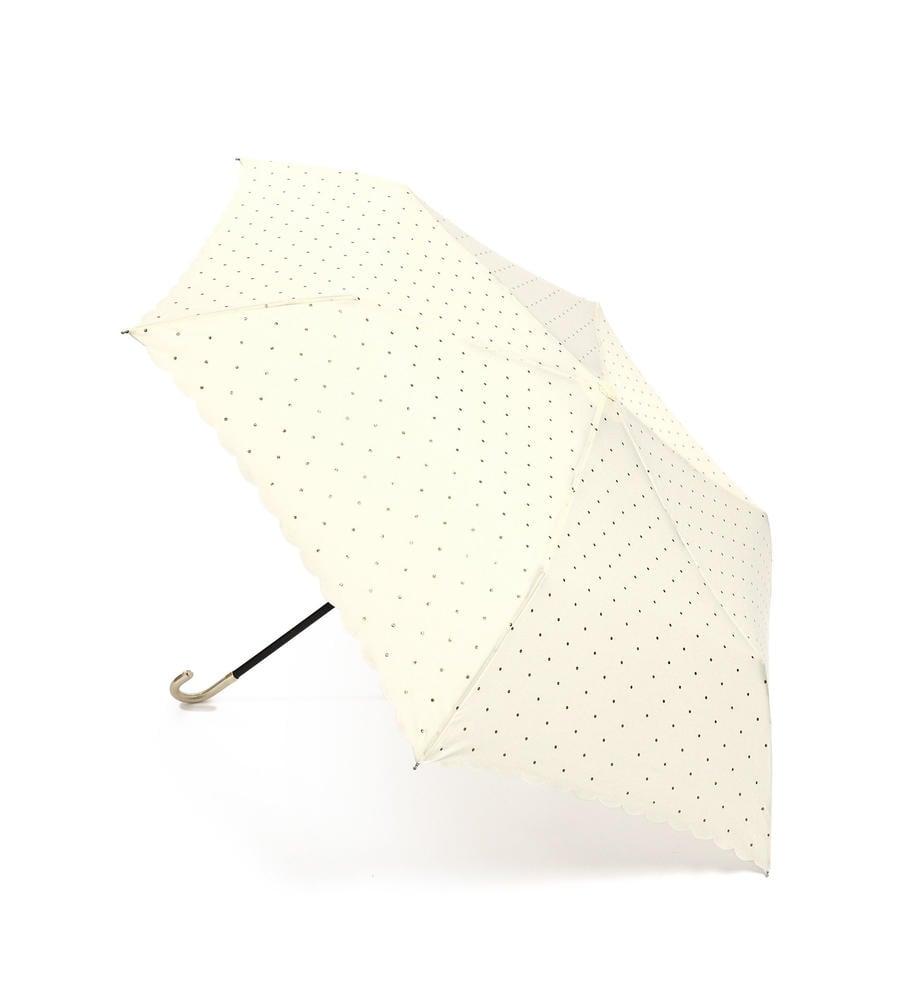 ドットグリッターヒートカットミニ傘