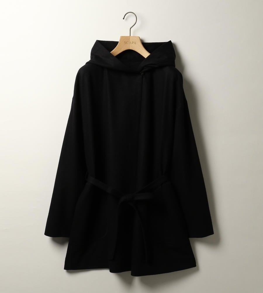 さらりと羽織れる気軽さが魅力のフーデットコート等新規商品入荷致しました。