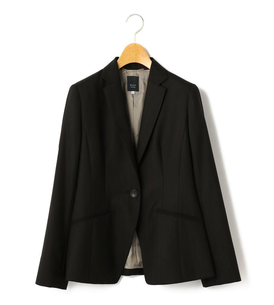 ヘリンボーン織りの1つボタンテーラードジャケット等新規商品入荷致しました。
