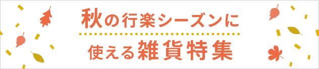 【LOOK@E-SHOP】秋の行楽シーズン