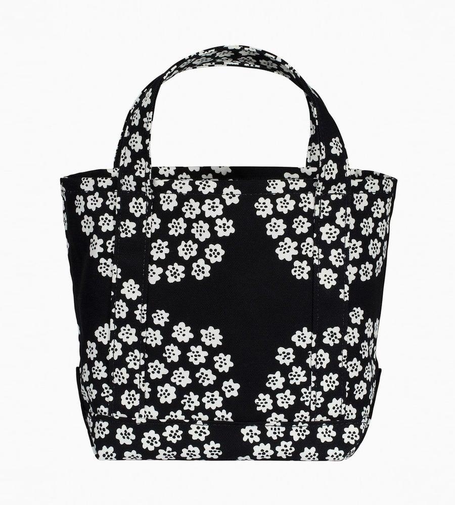 花束がモチーフのかわいいテキスタイル「「Puketti」を使用したトートバッグ等新規商品入荷致しました。
