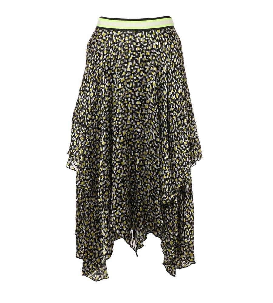 ゴージャスに煌めくネオンプリントを散りばめたスカート等新規商品入荷致しました。