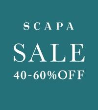 【SCAPA】春夏商品が一部プライスダウン!