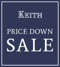 【KEITH】さらにプライスダウン!今欲しいあったかニットやコートがお買い得になりました。