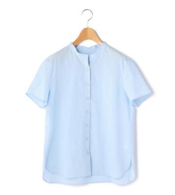 春夏らしい軽やかなカラーで展開したスタンドカラーシャツ等新規商品入荷致しました。