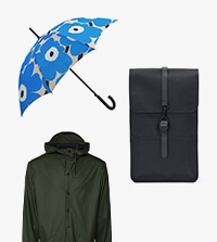 【LOOK@E-SHOP】梅雨の必須アイテム!注目ブランドのアイテムをピックアップ