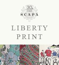 【SCAPA】ブランド日本上陸30周年を記念した特別なコレクション<LIBERTY PRINT COLLECTION>