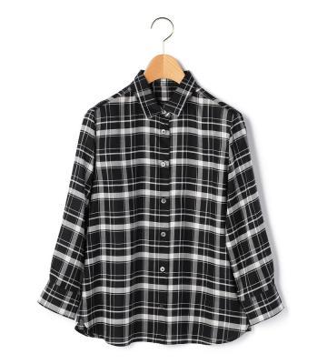 日常の着こなしに馴染む、ベーシックスタイルのチェック柄長袖シャツ等新規商品入荷致しました。