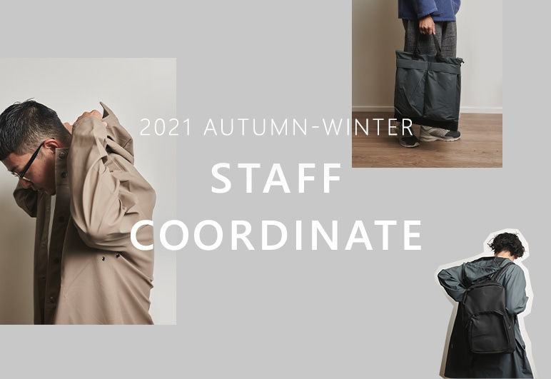 【RS】2021 AW STAFF COORDINATE